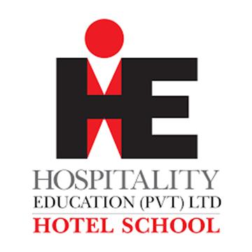 HE Hotel School Logo