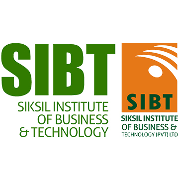 Siksil Institute of Business and Technology - SIBT Logo